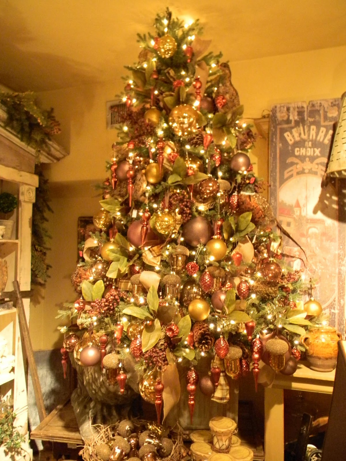 Decorating Victorian Home Christmas Tree Inspiration At Park Hill Home Southern