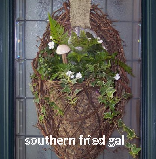 spring door decor decorations